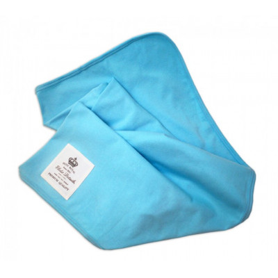 Детский плед Organic Cotton Blanket Petit Royal blue
