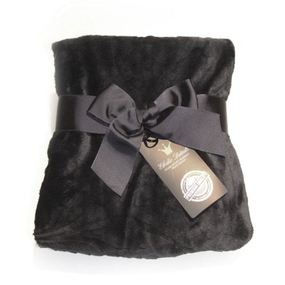 Детский плед Pearl Velvet blanket Black edition