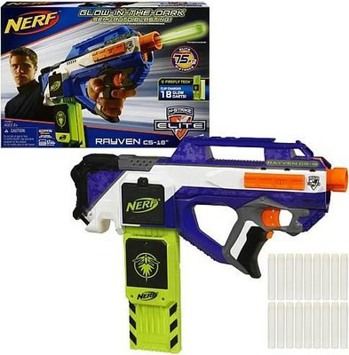 Nerf Пистолет Elite Rayven CS-18 A0967