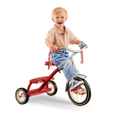Велосипед Classic Red Dual Deck Trike 433A