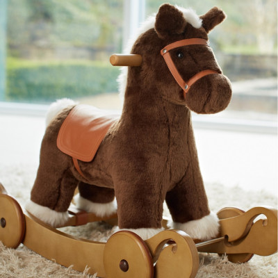 Лошадка-качалка Rocking Horse - Rock & Ride Cocoa 6661J8700